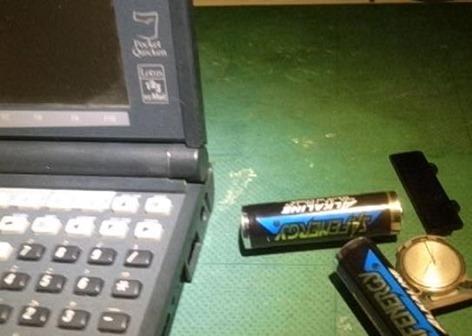 電池抜きリセット
