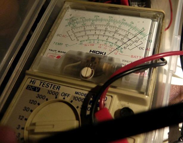 バックアップ電池の電圧[4]