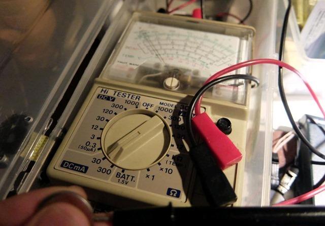 電池の容量測定